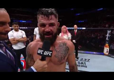UFC Fort Lauderdale: Mike Perry Octagon Interview
