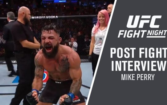 UFC Fort Lauderdale: Mike Perry Post Fight Interview