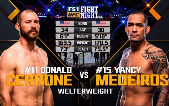 UFC Ottawa Free Fight: Donald Cerrone vs Yancy Medeiros