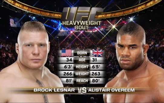 UFC Saint Petersburg Free Fight: Alistair Overeem vs Brock Lesnar