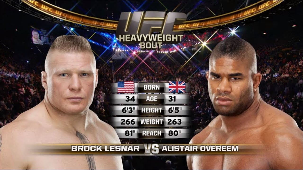 UFC Saint Petersburg Free Fight: Alistair Overeem vs Brock Lesnar