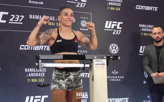 UFC 237 Weigh-Ins: Rose Namajunas, Jessica Andrade Make Weight – MMA Fighting
