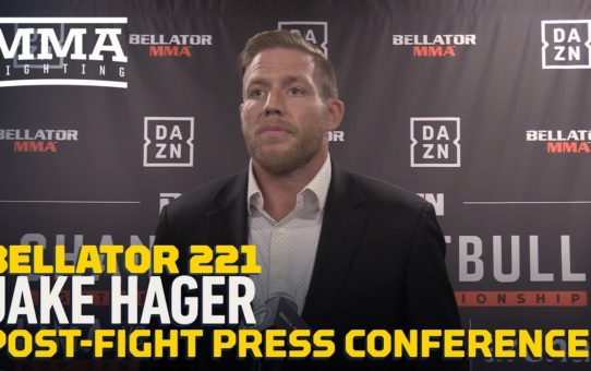 Bellator 221: Jake Hager Says Controversial End To T.J. Jones Fight 'Wasn't On Purpose'