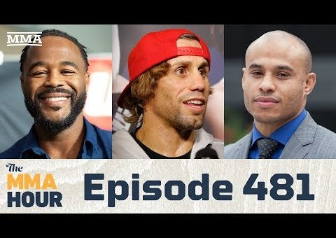 The MMA Hour: Episode 481 (w/ Urijah Faber, Rashad Evans, Ali Abdelaziz in studio)