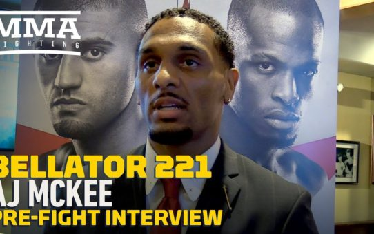 Bellator 221's A.J. McKee On Aaron Pico Changing Camps: 'Loyalty Is Royalty' – MMA Fighting