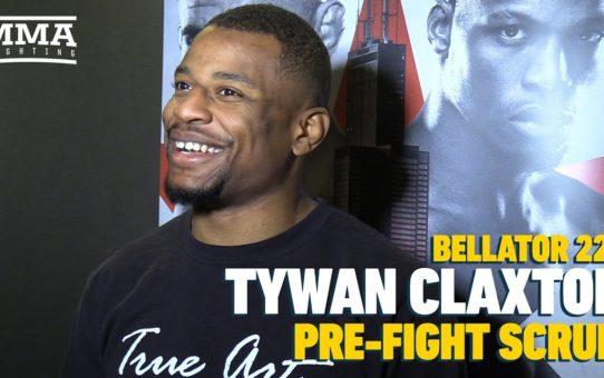 "Bellator 221: ""Software Developer"" Tywan Claxton Wants To Welcome Jordan Burroughs Into MMA"