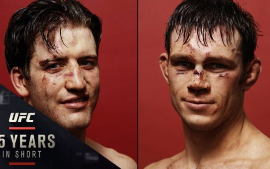BEFORE AND AFTER: The Story of Kevin Lynch's Iconic UFC Photos