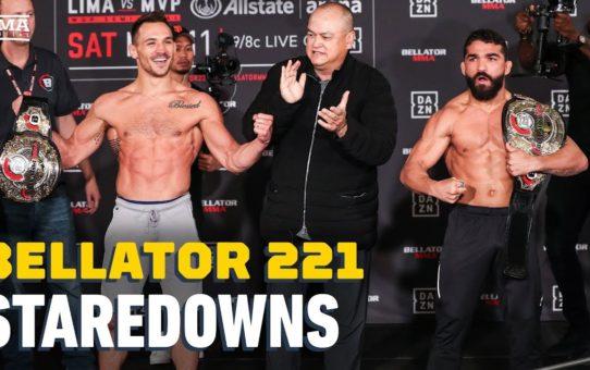 Bellator 221 Weigh-In Staredowns – MMA Fighting