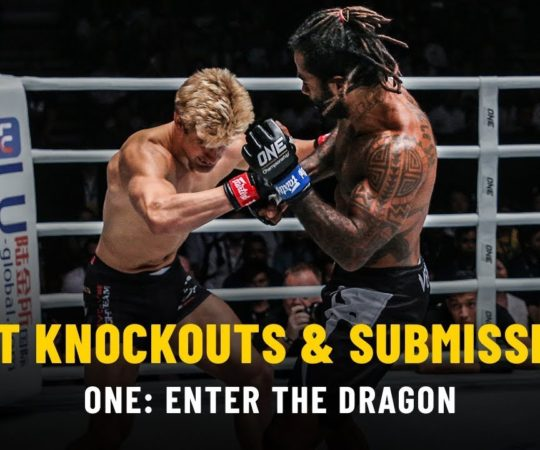Best Knockouts & Submissions | ONE: ENTER THE DRAGON
