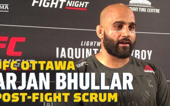 UFC Ottawa: Arjan Bhullar Wants Andrei Arlovski, Plans to 'Neuter The Pitbull' – MMA Fighting