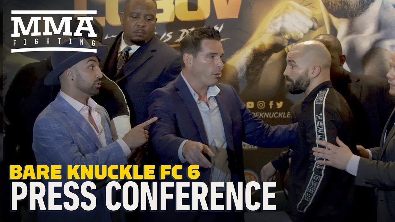 BKFC 6: Paulie Malignaggi vs. Artem Lobov Press Conference - MMA Fighting