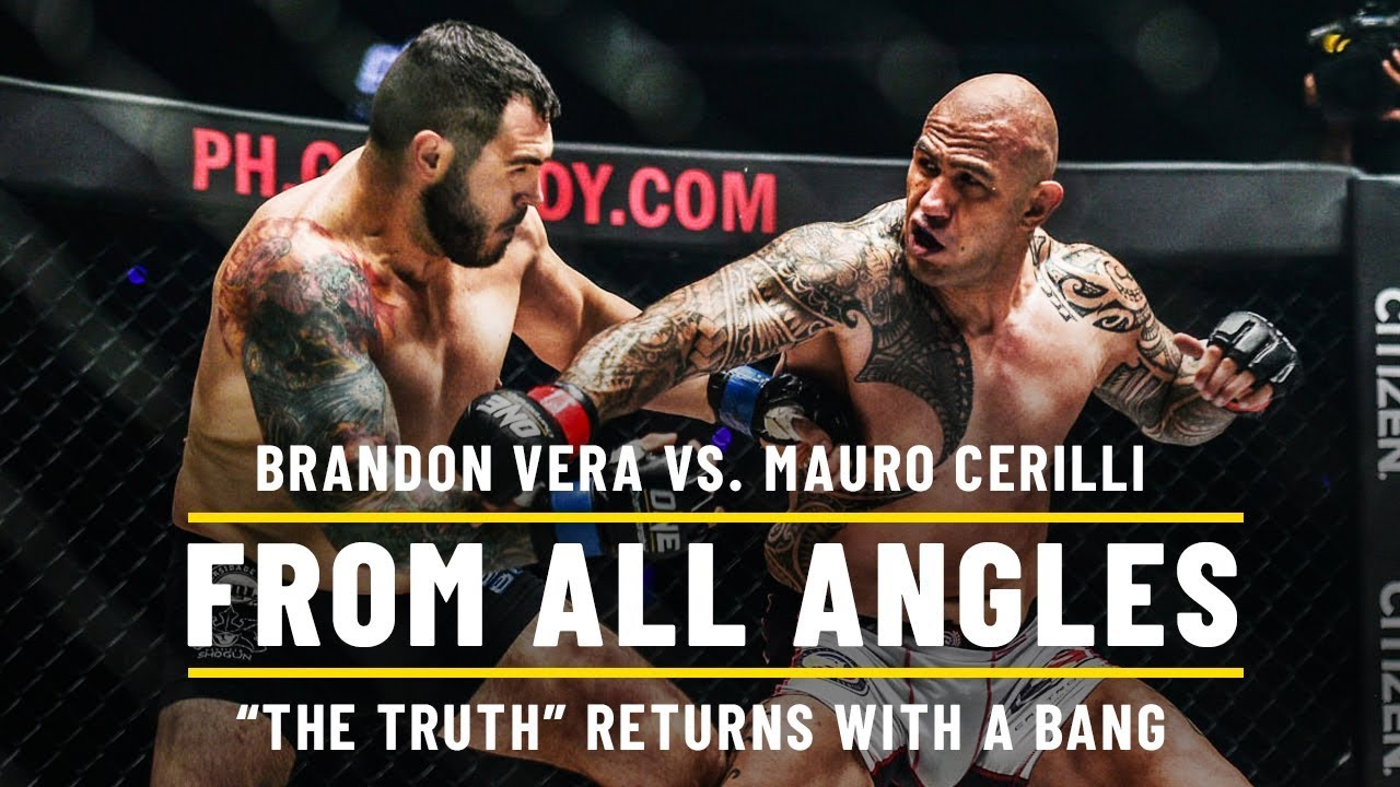 Brandon Vera Knocks Out Mauro Cerilli | ONE: From All Angles