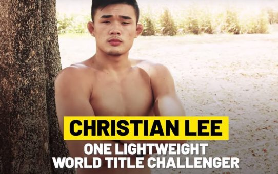 Christian Lee Ready To Make His Legacy | ONE Feature