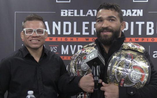 Bellator 221's Patricio Pitbull Dismisses Critics Of Chandler Stoppage: 'He Kissed The Floor'