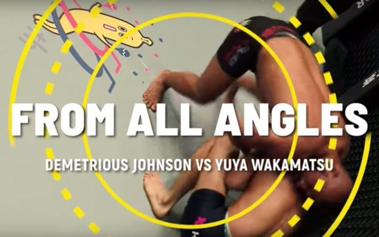 Demetrious Johnson's Tight Guillotine   ONE: From All Angles