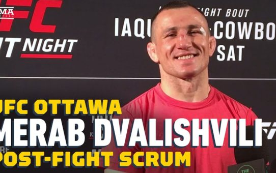 Merab Dvalishvili Remembers Humbling Training Session With Aljamain Sterling – MMA Fighting
