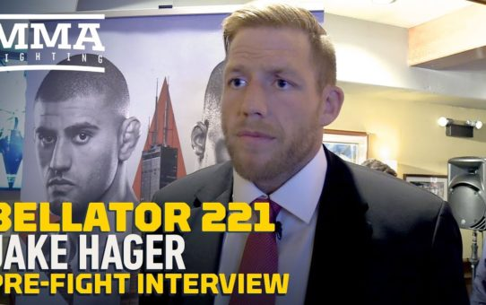 Bellator 221: Jake Hager Expects To Be Ready To Fight For Bellator Heavyweight Title In 2020