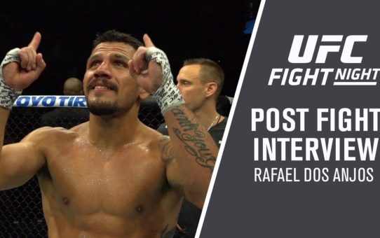 "Fight Night Rochester: Rafael Dos Anjos – ""I Want To Be Champion"""