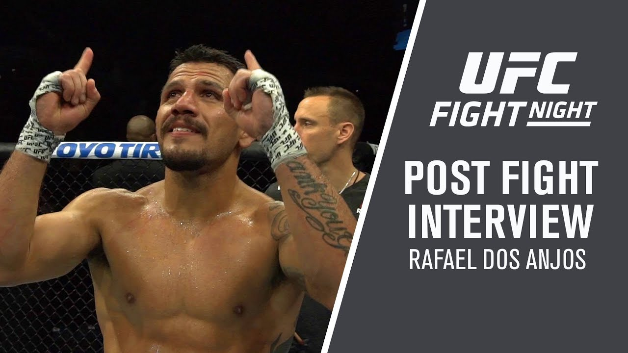 """Fight Night Rochester: Rafael Dos Anjos - """"I Want To Be Champion"""""""