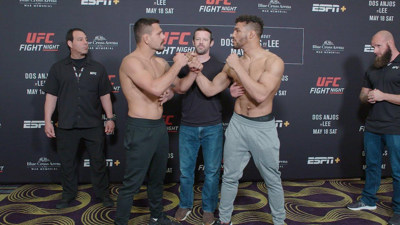 Fight Night Rochester: Weigh-In Faceoffs
