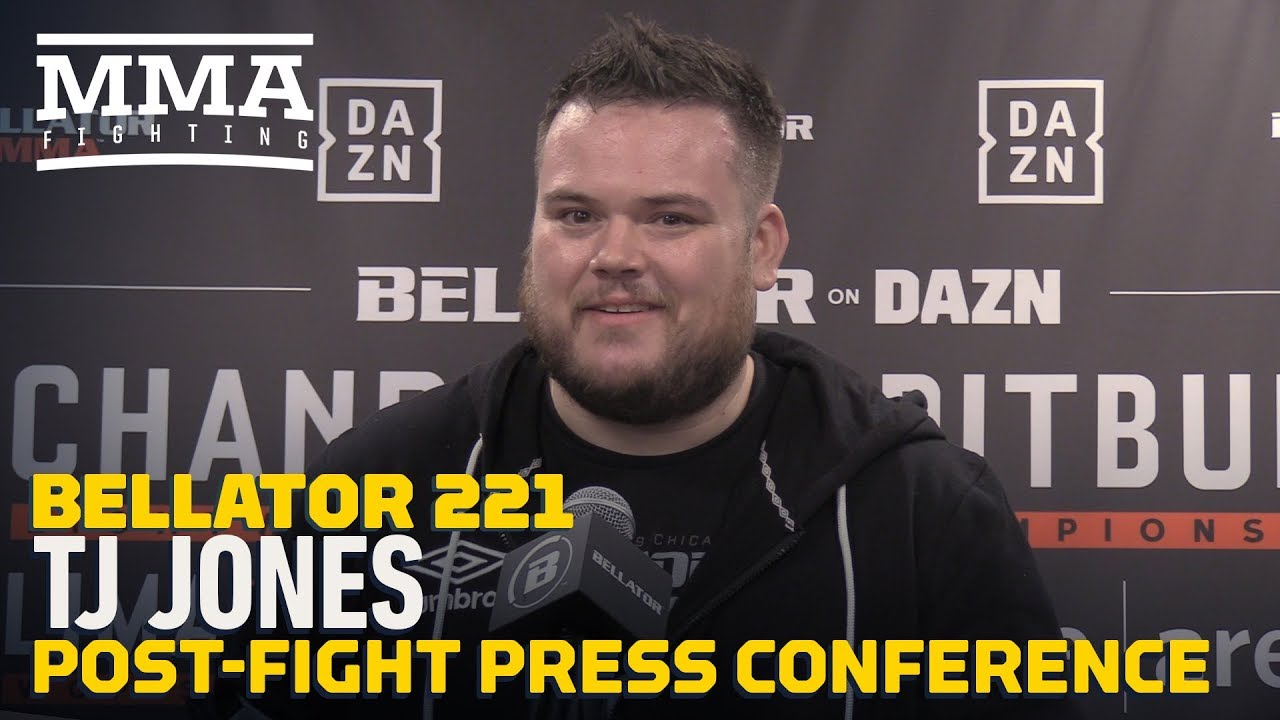 Bellator 221's T.J. Jones On Controversial Jake Hager Finish: 'You Have To Be Professional'