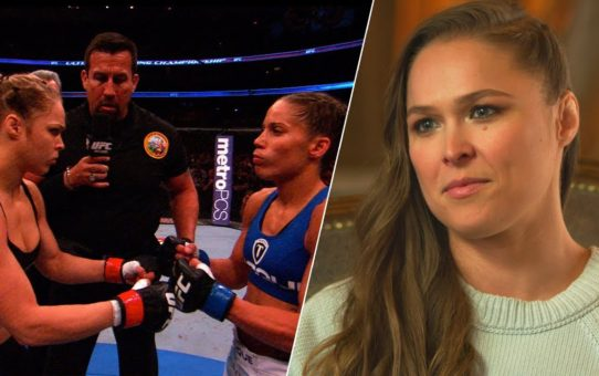 """Me and Liz Carmouche felt bigger"" – Ronda Rousey on UFC vs. WWE"
