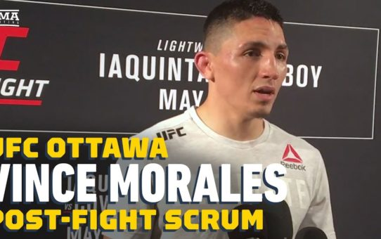 Vince Morales: I'm Not a 'Psycho' Who Doesn't Get Nervous for Fights – MMA Fighting