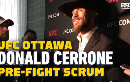 Donald Cerrone Moving On From Conor McGregor Fight, Jackson-Wink Drama – MMA Fighting