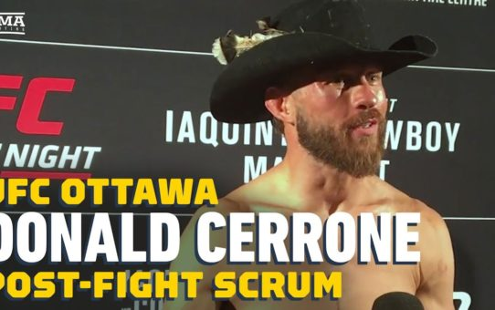 Donald Cerrone: 'Younger me would have quit' against Al Iaquinta at UFC Ottawa – MMA Fighting