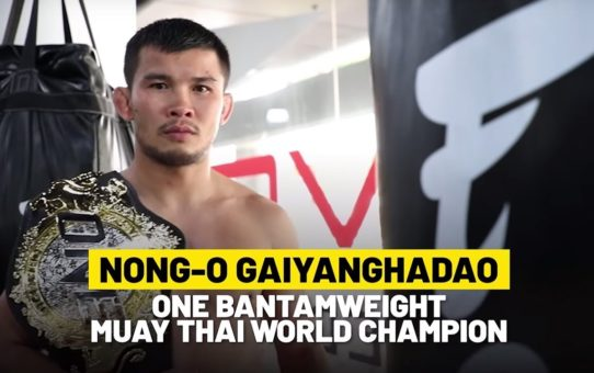 Nong-O's World Champion Wisdom | ONE Feature