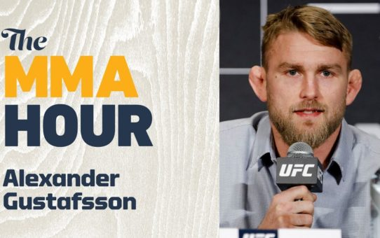 Alexander Gustafsson Plans To Beat Anthony Smith, Fight Three Times In 2019: 'I'm Tired Of Waiting'