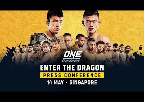 ONE Championship: ENTER THE DRAGON Pre-Event Press Conference