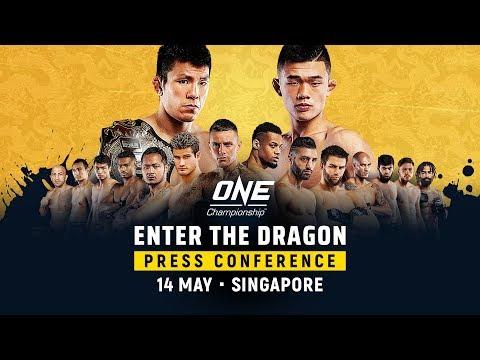 ONE Championship: ENTER THE DRAGON Pre-Event Press Conference