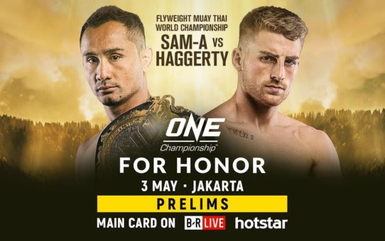 ONE Championship: FOR HONOR Prelims