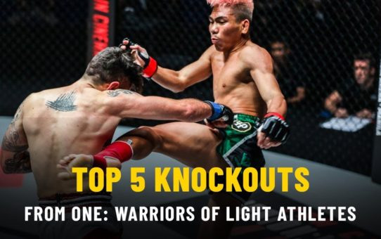 ONE Highlights | Top 5 Knockouts From ONE: WARRIORS OF LIGHT Athletes