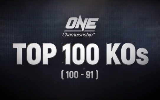 ONE's Top 100 Knockouts | 100 – 91