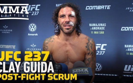 UFC 237: Clay Guida Hopes B.J. Penn Finds Success 'Inside And Outside Of The Cage' – MMA Fighting