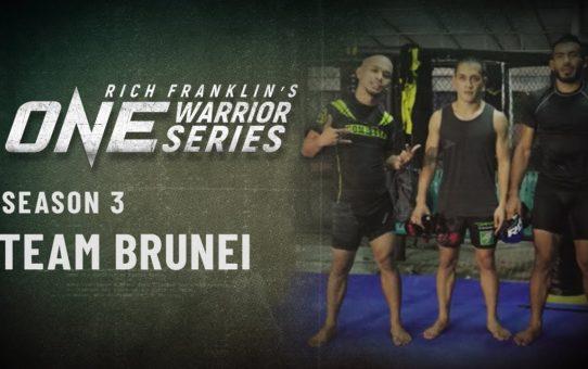 Rich Franklin's ONE Warrior Series | Season 3 | Team Brunei