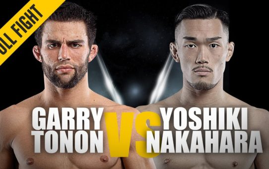 Garry Tonon vs. Yoshiki Nakahara | ONE: Full Fight | Swift Submission | May 2019
