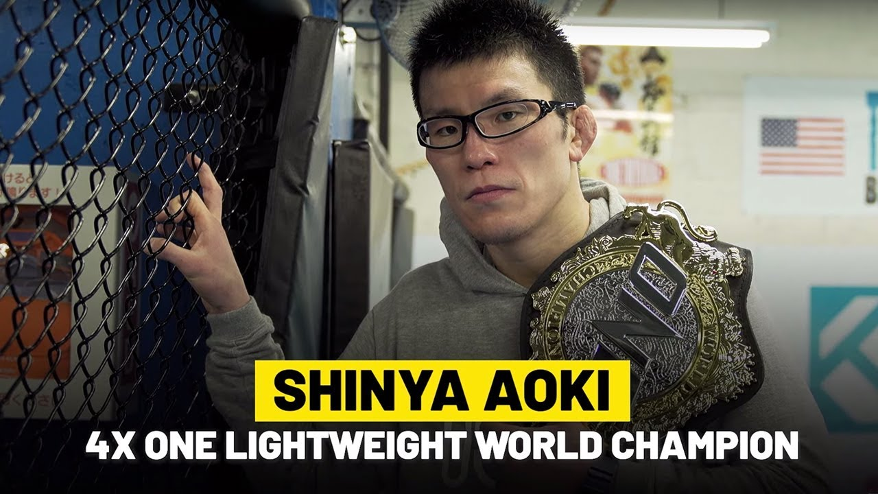 Shinya Aoki Lives For Martial Arts | ONE Feature