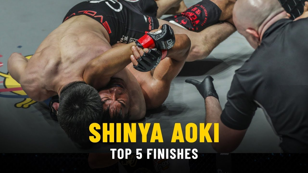 Shinya Aoki's Top 5 Finishes | ONE Highlights