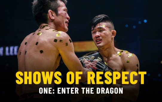 Shows Of Respect | ONE: ENTER THE DRAGON