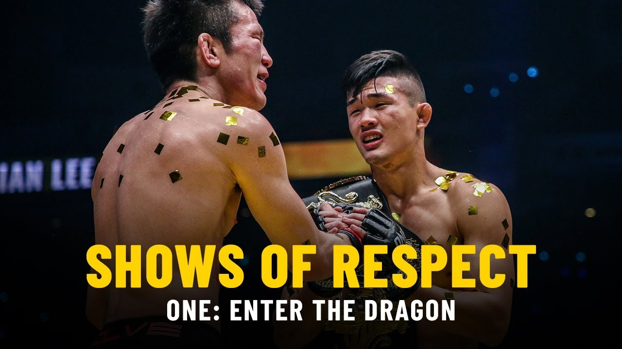 Shows Of Respect   ONE: ENTER THE DRAGON