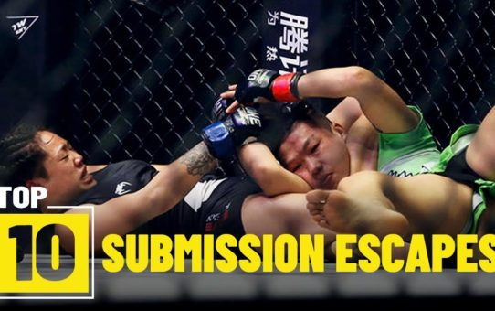 Submission Escapes | ONE Top 10