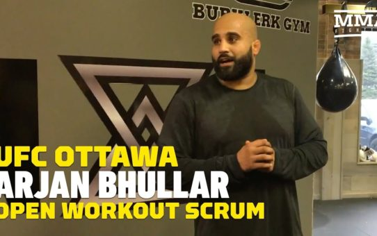 UFC Ottawa: Arjan Bhullar Talks Daniel Cormier Comparisons, Mental Advantage Over Juan Adams, More