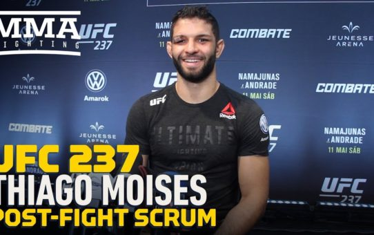 UFC 237: Thiago Moises Vows He Can 'Do More' After First UFC Victory – MMA Fighting