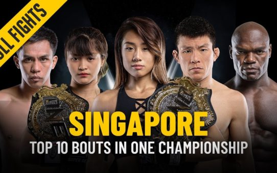 Top 10 Bouts in Singapore | ONE: Full Fights