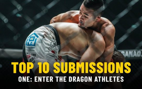 Top 10 Submissions From ONE: ENTER THE DRAGON Athletes | ONE Highlights