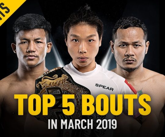 Top 5 Bouts In March 2019 | ONE: Full Fights