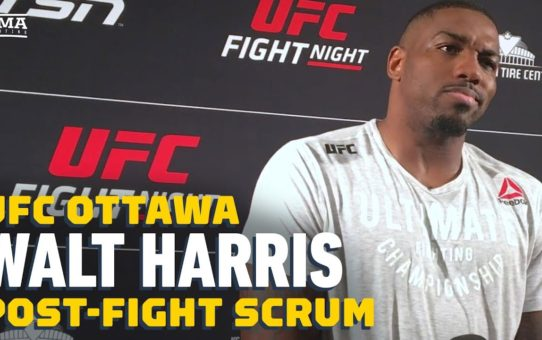 Walt Harris Wants To Fight Justin Willis: 'The Guy Is Really Not That Good' – MMA Fighting